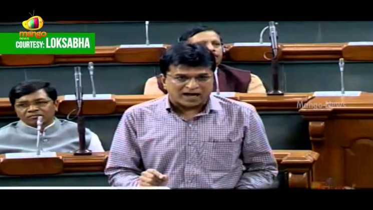 Somaiya in Loksabha raised Solar Land Scam in Bikaner