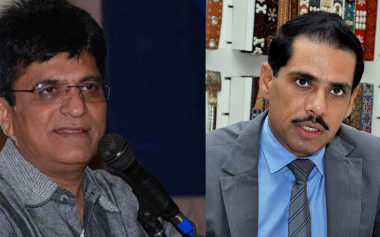CAG Report on Robert Vadra Land Scam : Somaiya demanded action